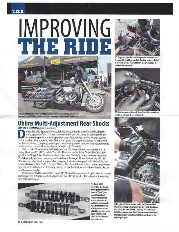 motorcycle articles